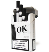 OK Black Cigarettes 10 cartons